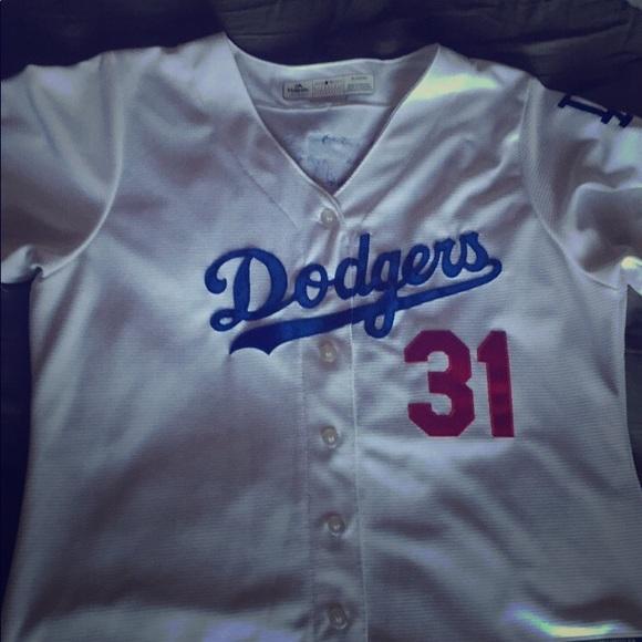 pretty nice 37e95 3cfcd Los Angeles Dodgers Joc Pederson Women's Jersey